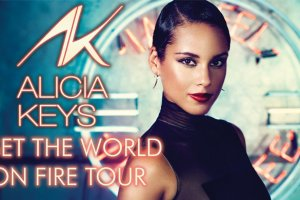 Alicia Keys Set The World On Fire Tour